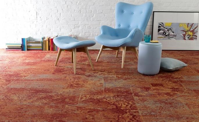 wykładzina dywanowa retro ITALIA - wzór Adria 14